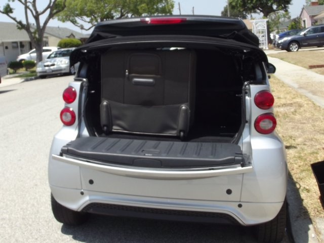 Big Suitcase in Smart Trunk