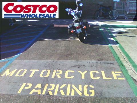 Torrance CA Costco M/C Parking