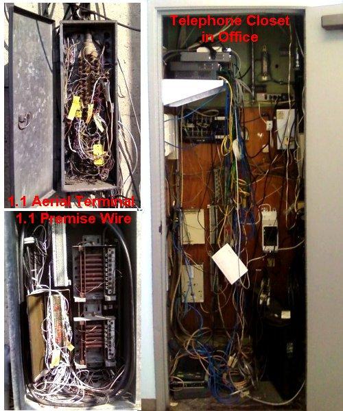 Telephone Wiring, 1.1 to Closet