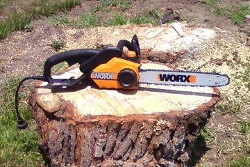 Worx electric chainsaw