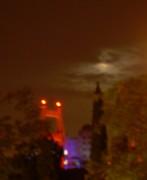 Full Moon over Golden Gate
